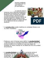 Diferencia Entre Produccion y Productividad