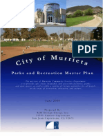 Murrieta Parks and Recreation Master Plan