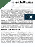Gasschutz Und Luftschutz 1931 Nr.4 November