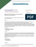Archivos de Pediatría Del Uruguay - Emisiones Otoacústicas en Recién Nacidos Con Factores de Riesgo Auditivo