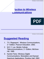 Wireless Communication Introduction