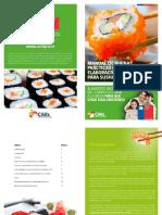 Manual de Buenas Practicas de Elaboración Para Sushi