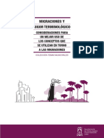 El Ayuntamiento difunde un manual con pautas para un correcto uso del lenguaje relativo a las migraciones