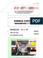 Manual de la bomba de incendios CONTRAINSA