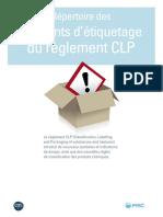 Repertoire Elements Etiquetage Clp Fr