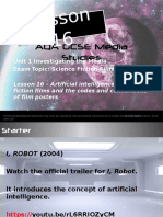 lesson-16 ai and posters codes and conventions