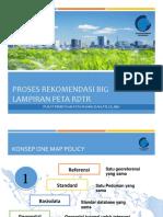 Tata Cara Rekomendasi BIG pada Lampiran Peta RDTR