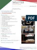 BIFS Newsletter, 2016-02-05 (English)