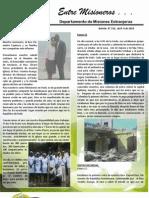 Boletin 156 INFORME MISIONERO DE HAITI - ABRIL 2010