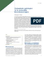 Tratamiento Quirúrgico de La Rectocolitis Ulcerohemorrágica