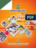 Alternative to Homework (English)