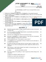 Cbse Class 10 Science Sample Paper Sa2 2