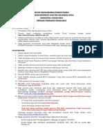Revisi Pengumuman Pendaftaran Feb 2016