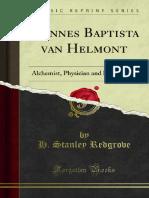 Joannes Baptista Van Helmont