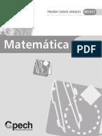 Pruebas Cursos Anuales - Algebra 2009