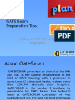 GATE Entrance Exam Preparation Tips & Tricks