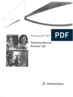 0.Primavera P6 Training Manual Course-102