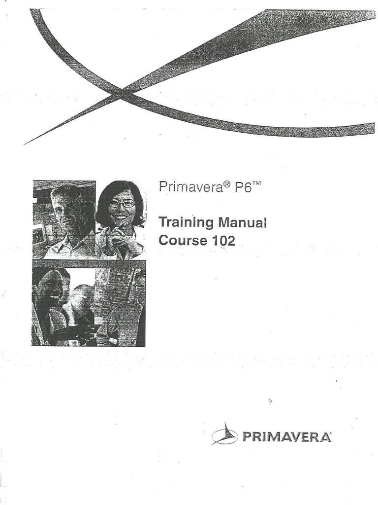 0.Primavera P6 Training Manual Course-102