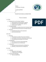 Planificacion PsicologiaCognitiva UAM
