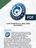 Club Sportiv as Real New