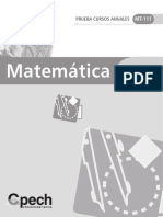 Prueba Cursos Anuales - Geometria 2009