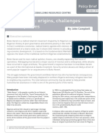 Boko Haram Origins, Challenges and Responses
