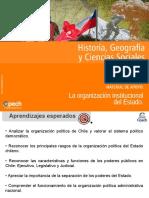 Material de Apoyo Clase 2 La Organización Institucional Del Estado 2015
