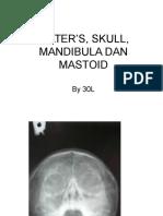 Water's, Skull, Mandibula Dan Mastoid