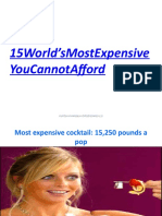 15 World Most Expensive