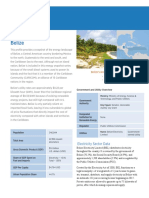 Energy Transition Initiativ, Energy Snapshot Belize, March 2015