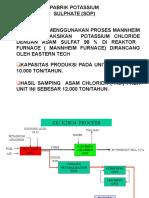 diagram alir pabrik Petrokimia Gresik Potasium Sulfat