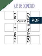 CROQUIS DOMICILIO