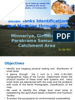 GIS Approach to Small Tanks Mapping Final 06-09-2011