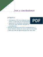 Objetivo y Conclusiones 0.2