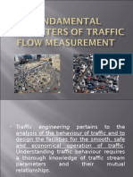 Fundamental Parameters of Traffic Flow Measurement