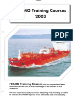 f Ramo 2003 Training Course