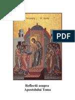 Ioan 20.24-29 Reflectii Asupra Apostolului Toma