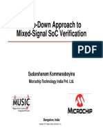 A Top Down Approach to Mixed Signal SoC Verification