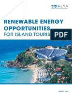 IRENA, Renewable Energy Opportunities for Island Tourism, August 2014