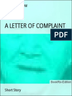Timmi Milsom a Letter of Complaint