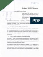 Majes Siguas II Recurso de Subsanación-TC