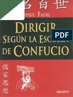 Faure Sophie - Dirigir Segun La Escuela de Confucio