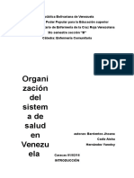 Organización de la salud