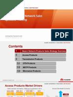 01-HUAWEI Bearer Network Sales Specialist Training V1.0