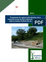 Amphibia-Nature Rapport-5 Turcot 2014 Info