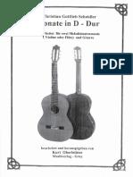10d Sonate D Dur