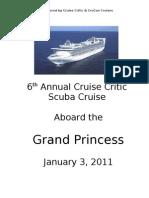 2011 Scuba Cruise Brochure