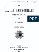 Le Code d'Hammourabi