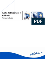 Aloha Tableservice Managers Guide ver 5.3