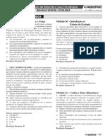 3.2. Biologia - Exercícios Resolvidos - Volume 3